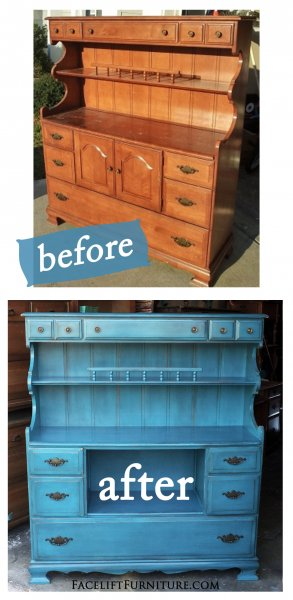 Buffets & Hutches - Before & After - Facelift Furniture
