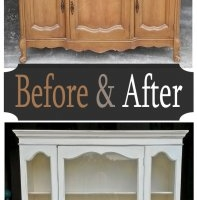 French Hutch - Before & After