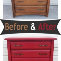 Red Chest Before & After