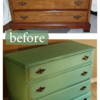 Jade Dresser Before & After