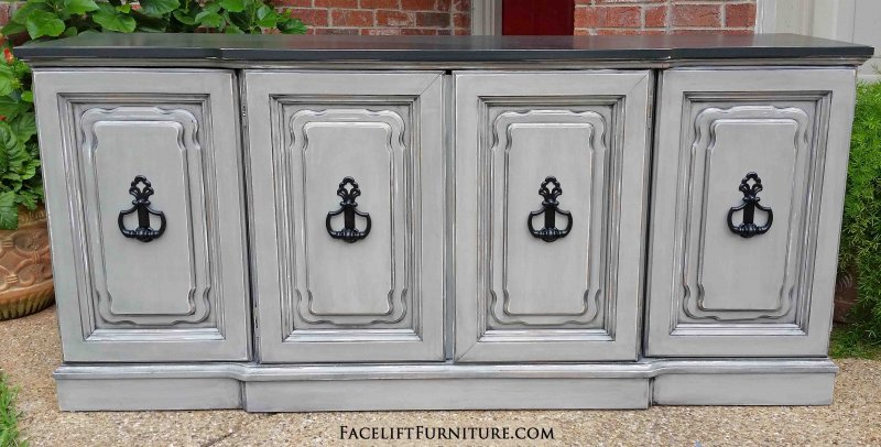 Hutches Cabinets Buffets Painted Glazed Distressed