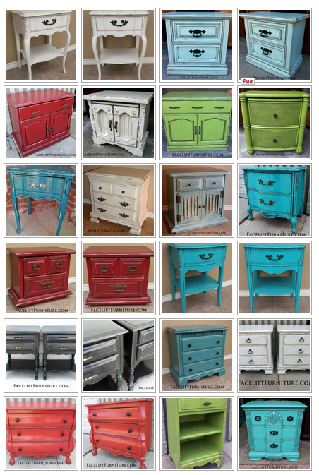 Nightstand Refinishing Ideas Facelift Furniture