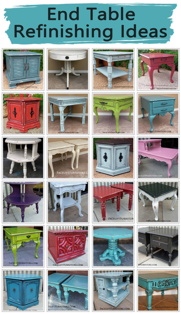 Ideas For Redoing Furniture With Stain And Paint On Pinterest