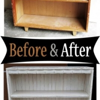 Bookshelf - Before & After