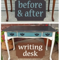 WritingDesk Before&After