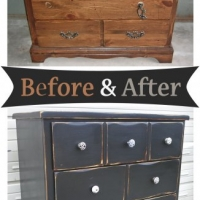 Black Dresser - Before & After