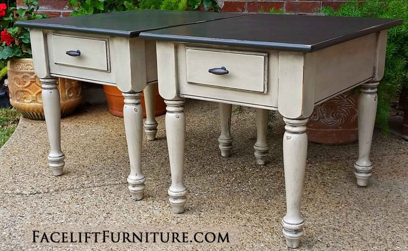 best website af69b 7103a End Tables – Painted, Glazed & Distressed – Facelift Furniture