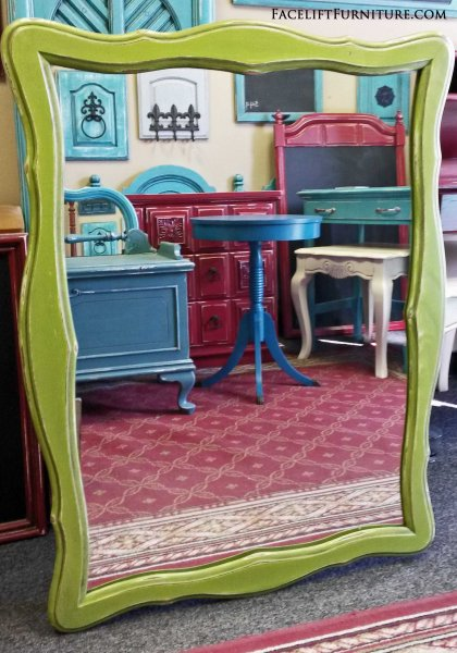 Unique Mirrors - Painted, Glazed & Distressed - Facelift Furniture JA16