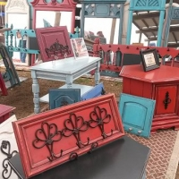 Paint Glaze & Distress to Upstyle & Repurpose