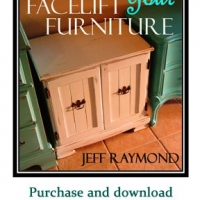 """Facelift Your Furniture"" will show you how to how paint, glaze, and distress your furniture, adding enormous character to weary, old pieces. Purchase your copy of our downloadable eBook for only $10 at www.faceliftyourfurniture.com."