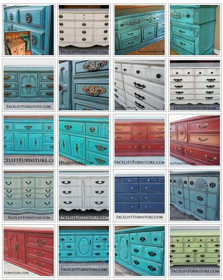 Dresser Refinishing Ideas Facelift Furniture