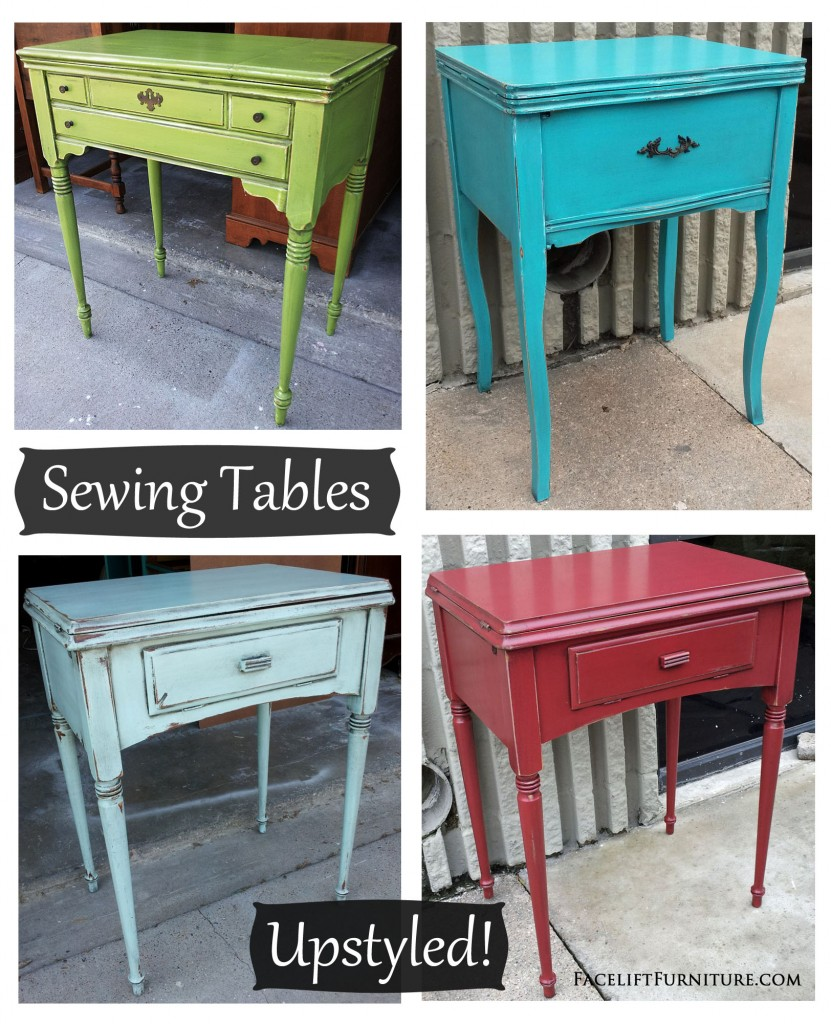 Upstyled Sewing Tables Facelift Furniture