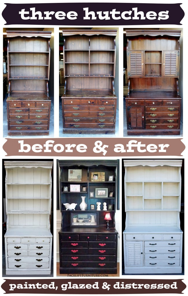 ... Painted, Glazed & Distressed - Before & After - Facelift Furniture
