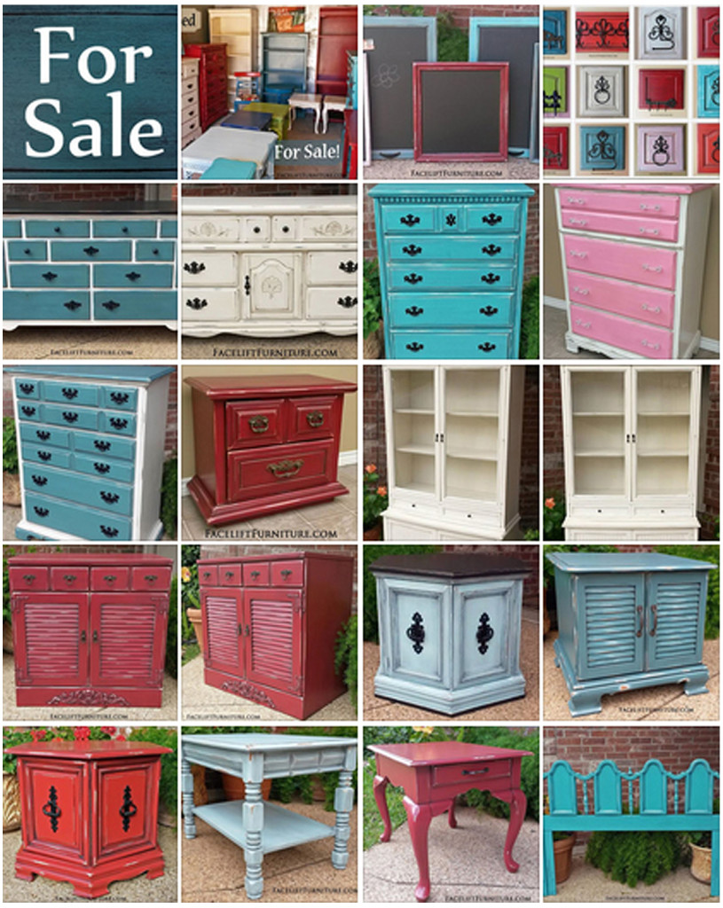 refinished furniture for sale