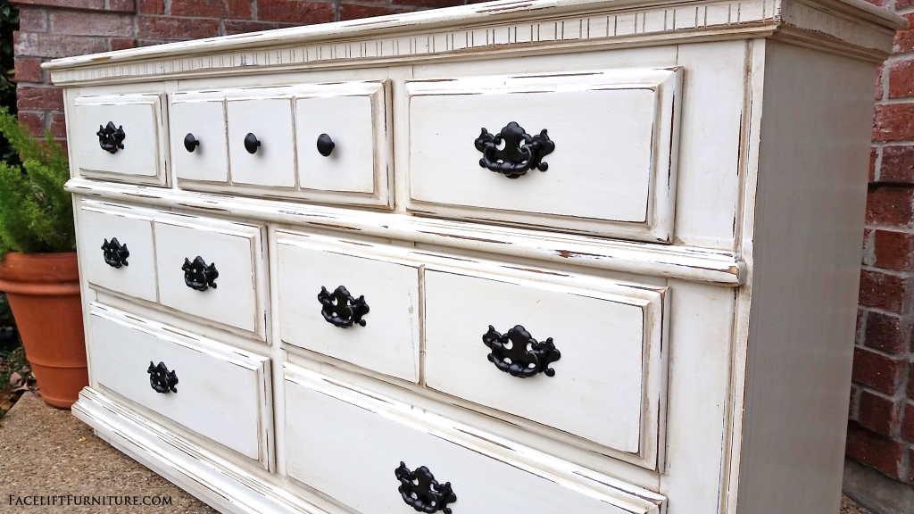Off White Dresser Facelift Furniture
